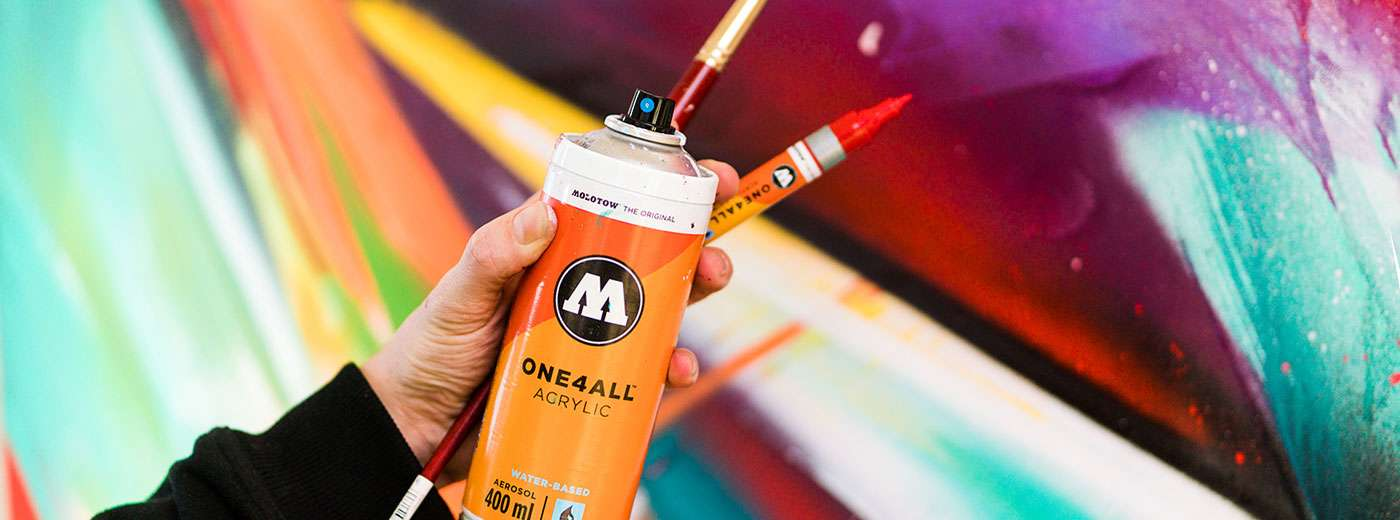 ONE4ALL ACRYLIC SPRAY PAINT